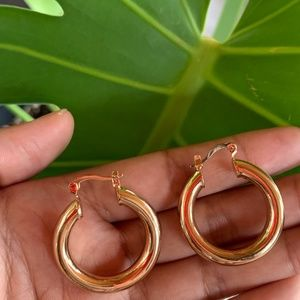 Small Baby Gold Hoops